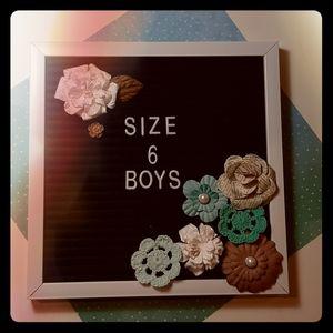 Size 6 boys Clothing